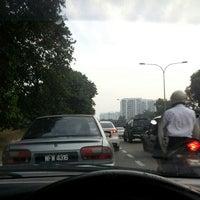 Photo taken at Exit Batu Tiga by Endah M. on 7/8/2014
