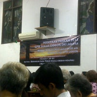 Photo taken at GPIB Gideon Jakarta by Lona S. on 3/30/2013