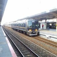 Photo taken at JR Sannomiya Station by 和彩 on 3/17/2013