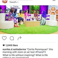 Photo taken at PT. Televisi Transformasi Indonesia (Trans TV & TRANS7) by Jonah L. on 9/11/2016