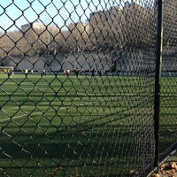 Photo taken at 101 Street Soccer Field by James H. on 1/6/2013