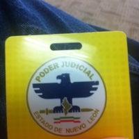 Photo taken at Poder Judicial del Estado de Nuevo León by Tom L. on 1/23/2014