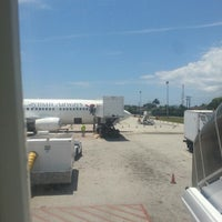 Photo taken at Cayman Airways Flight 832 by Maurys M. on 4/13/2014