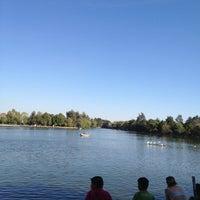 Photo taken at Laguna de San Baltazar by Enrique C. on 1/13/2013