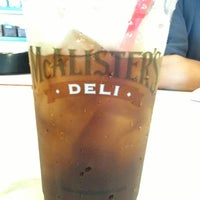 Photo taken at McAlister's Deli by Isabelle R. on 6/11/2013