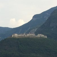 Photo taken at Castel Beseno by Lena S. on 8/8/2014