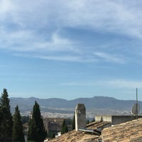 Photo taken at Albaicín by Lola M. on 6/12/2016