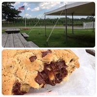 Photo taken at Mann Orchards Farm Store & Bakery by Sabrina B. on 8/1/2013