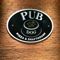 Photo taken at Pub Dog Pizza & Drafthouse by Chris G. on 10/14/2012