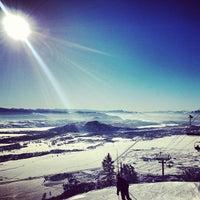 Photo taken at Jackson Hole Mountain Resort by Stephen L. on 1/17/2013