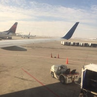 Photo taken at Concourse D by Michael A. on 1/27/2014