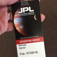 Photo taken at Jet Propulsion Laboratory by Michael S. on 7/26/2016