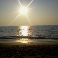 Photo taken at Anjuna Beach by Алина З. on 11/20/2012