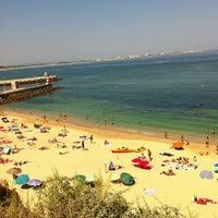 Photo taken at Praia da Batata by António C. on 7/4/2013