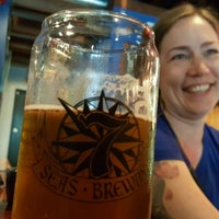 Photo taken at 7 Seas Brewing & Taproom by Bryan S. on 7/17/2016
