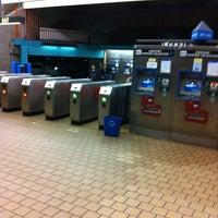 Photo taken at West Oakland BART Station by James 6 shotta B. on 11/17/2012