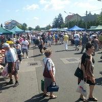 Photo taken at Bosnyák téri piac by Kristof K. on 7/13/2013