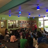 Photo taken at San Carlos Library by Olga S. on 4/20/2016