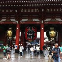 Photo taken at Senso-ji Temple by Pan K. on 6/16/2013