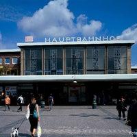 Photo taken at Dortmund Hauptbahnhof by Deutsche Bahn on 12/3/2012