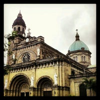 Photo taken at Cathedral-Basilica of the Immaculate Conception of Manila (Manila Cathedral) by Oliver on 2/12/2013