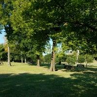 Photo taken at Spotts Park by Danny F. on 10/8/2016