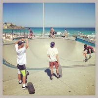 Photo taken at Bondi Skatepark by David R. on 1/25/2013