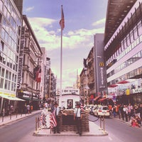 Photo taken at Checkpoint Charlie by Bart L. on 7/13/2013