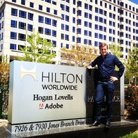 Photo taken at Hilton Worldwide Global Headquarters by Bart L. on 4/26/2013