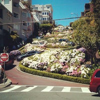 Photo taken at Lombard Street by Javier A. on 6/29/2013
