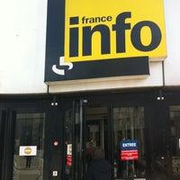 Photo taken at France Info by Jérémy D. on 3/5/2014