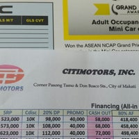 Photo taken at Citimotors, Inc. by Gerome A. on 3/28/2015