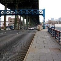 Photo taken at Hamilton Avenue Bridge by Boris Y. on 4/5/2013