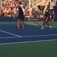 Photo taken at Court 5 - USTA Billie Jean King National Tennis Center by Glenn D. on 9/1/2015