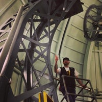 Photo taken at The Observatory Science Centre by Curtis J. on 8/11/2013