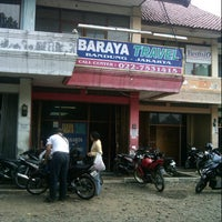Photo taken at Baraya Travel by Aryo CountryBoy on 10/29/2012