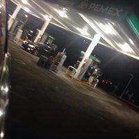 Photo taken at Gasolinera Pemex 7675 by Luis G. on 11/29/2013