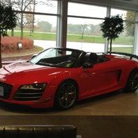 Photo taken at Audi Canada by Andrew M. on 10/24/2012