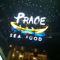 Photo taken at Praoe Sea Food by cindy k. on 4/14/2013