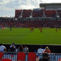 Photo taken at BMO Field by Brad C. on 5/18/2013