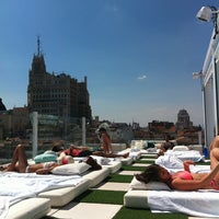 Photo taken at Terraza Room Mate Óscar by Fabrizio G. on 8/14/2013