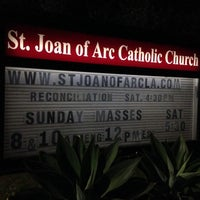 Photo taken at St. Joan of Arc Catholic Church by Narciso A. on 7/24/2014