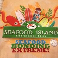 Photo taken at Blackbeard's Seafood Island by Tutis I. on 11/28/2012