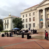 Photo taken at Sproul Plaza by Sean R. on 4/8/2016