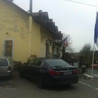 Photo taken at Restaurace a penzion U Koně by David B. on 11/16/2012