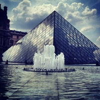 Photo taken at The Louvre by Cristina H. on 7/18/2013