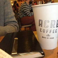 Photo taken at Acre Coffee by Cat D. on 1/13/2013