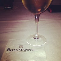 Photo taken at Rothmann's Steakhouse by Karen D. on 6/26/2013