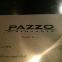 Photo taken at Pazzo Ristorante by Jim W. on 1/1/2013