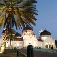 Photo taken at Masjid Raya Baiturrahman by aqier s. on 7/19/2013